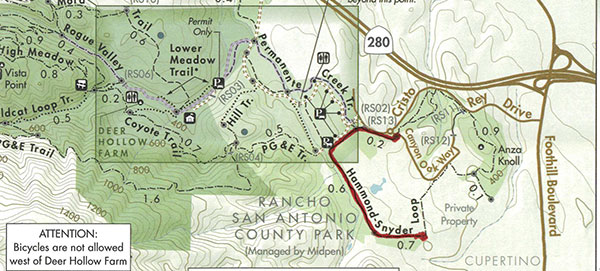 rancho san antonio preserve midpeninsula regional open space district rancho san antonio preserve