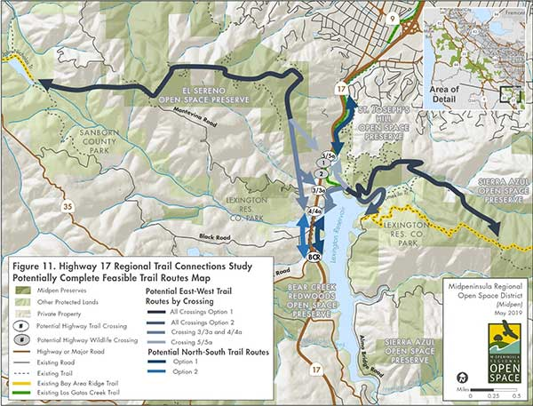 Map of Potential Trail Routes