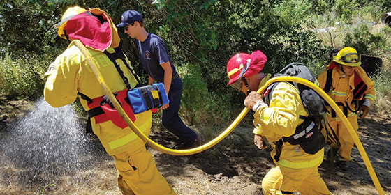 Midpen rangers partner with fire agencies for annual fire training