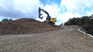Landform restoration at Mount Umunhum