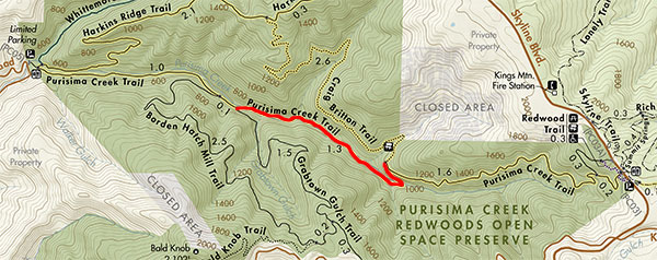 Purisima Creek Redwoods Preserve | Midpeninsula Regional