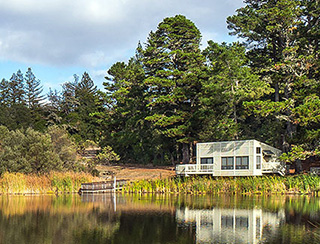 Daniels Nature Center at Alpine Pond © Karl Gohl
